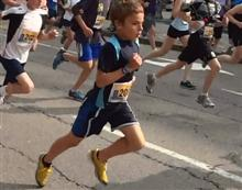 Cam (10) on his way to a sub 20 minute 5k in Ottawa
