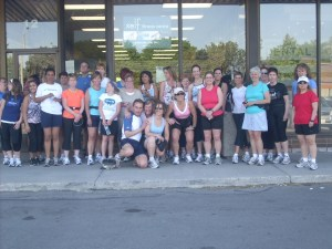 Some of Esthre's running family