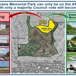 What's Happening with the Veterans Memorial Park?