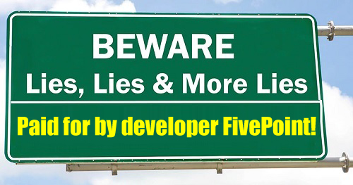 Billion-Dollar-Developer FivePoint Is At It Again: Funding Another Deceptive Campaign!