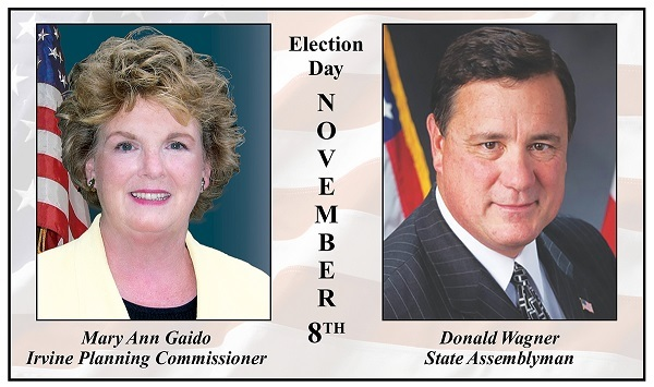 Gaido vs Wagner in Irvine's Mayor Race