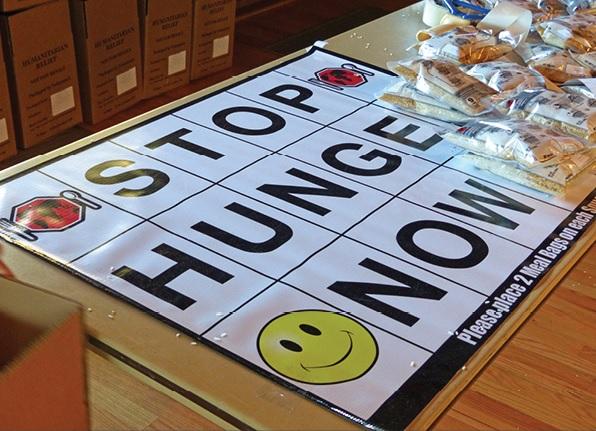 CultureCorner: Stop Hunger Now