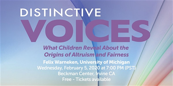 Distinctive Voices: What Children Reveal About the Origins of Altruism and Fairness