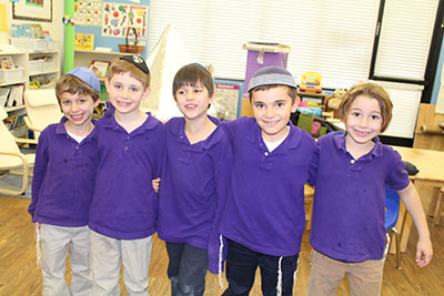 Boys-purple-shirts