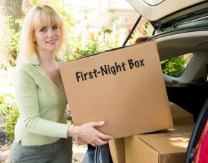 first night box- moving tips