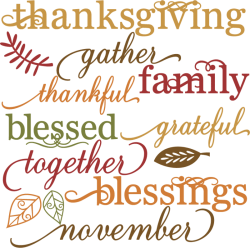 thanksgiving family gather blessed grateful