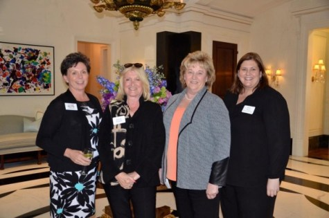 Teddie Story attends Baron and Blue Foundation Event