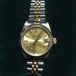 Ladies Rolex Oyster Datejust Automatic Two-Tone Bracelet Watch
