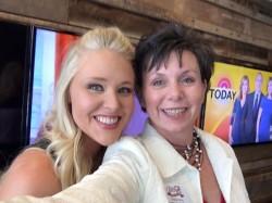 Teddie with Food Network Star, Sarah Penrod