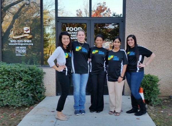Volunteers from DTCC