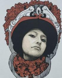 señora matanza VIII - 150cm x 120cm