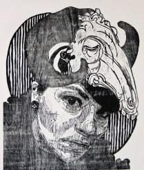 señora matanza XI-xilografia-120cm x1oocm-2013