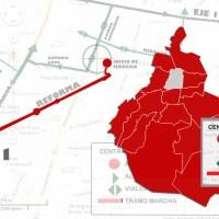 Marchas y protestas para hoy martes 31 de marzo en la CDMX