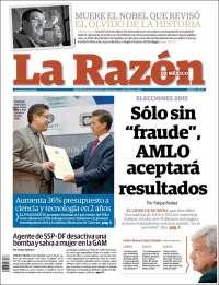 LA RAZON 14 ARIL