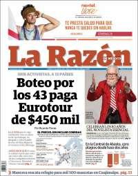 LA RAZON 20 ARIL