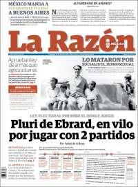 LA RAZON 24 ABRIL