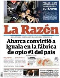 LA RAZON 29 ABRIL