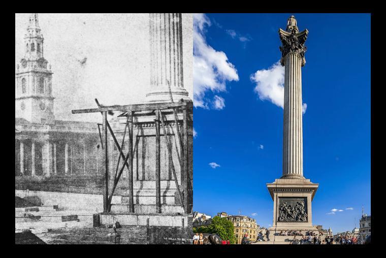 Irving Pineda Plaza de Trafalgar, Londres