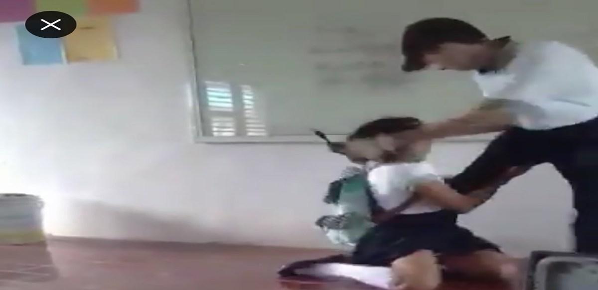 Alumno golpea a niña del Cecyt Puerto Morelos; y luego la amenaza en video