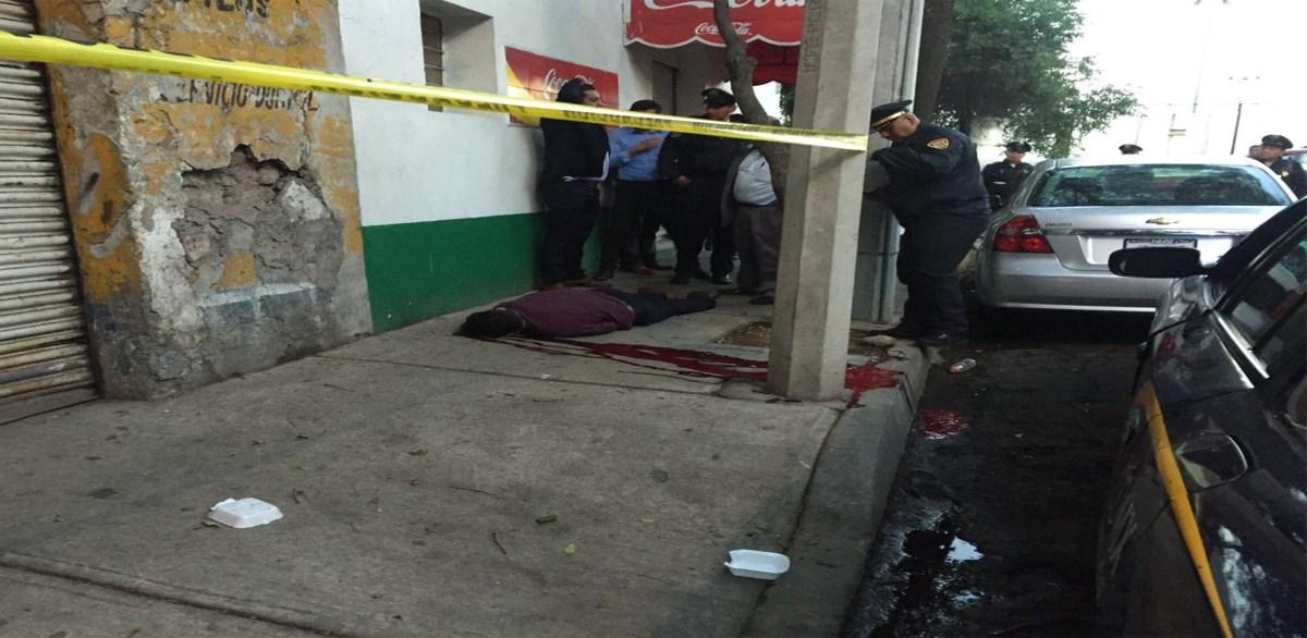Asesinan a policía a una cuadra de la alcaldía Cuauhtémoc en la colonia Buenavista