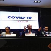 Caso sospechoso de COVID-19 dio positivo en primera prueba