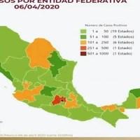 125 muertos y 89 intubados en México por nuevo coronavirus