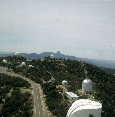 Observatorien auf Kitpeak südl. Tucson 1983