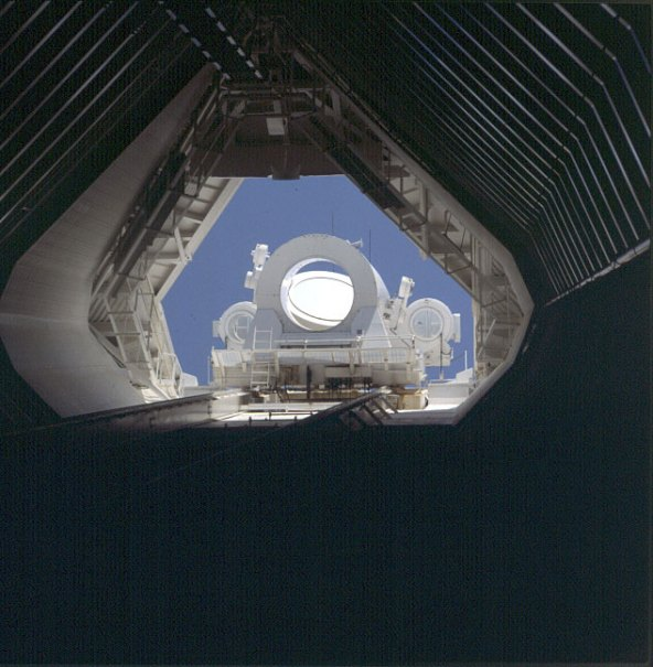 Sonnenobservatorium auf Kitpeak bei Tucson 1983