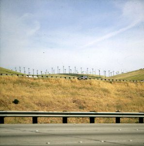 Windparks in Südkalifornien 1986