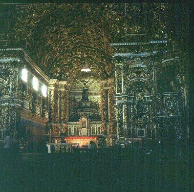 bahia-goldüberladene kirche