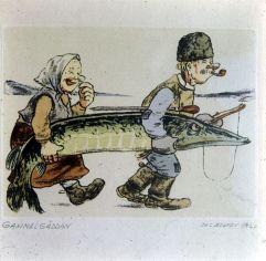 bolmensee-karikatur in unserem Haus