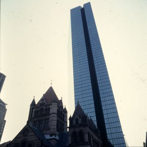 Hancocktower in Boston - Unikat 1988