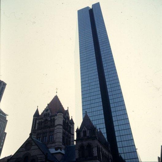 Hancocktower in Boston - Unikat 1988