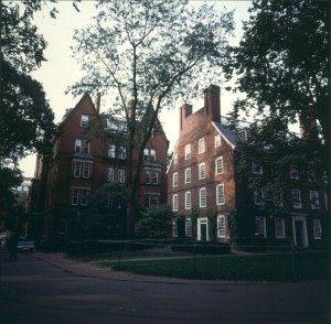 Harvard - Feinste Uniadresse in Boston 1988