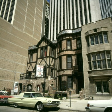 chicago-alte baureste aus 19.Jhd
