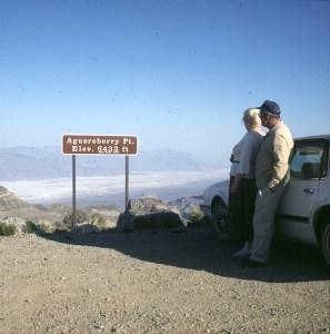 Death Valley Aguereberry Point