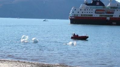 groenland-Beiboot der Fram 2007