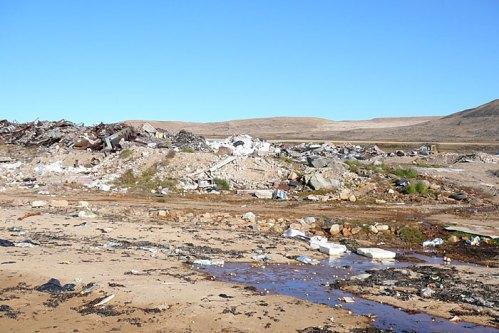 groenland-wilde Müllkippe 2007