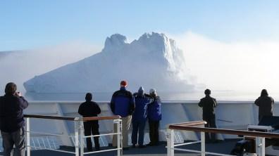 groenland-Eisberge im Morgendunst 2007