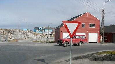 Grönland-1.Verkehrsschild 2007