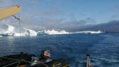 Grönland-Wolken am Ilulissat 2007