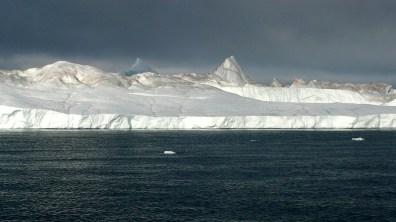 Grönland bedrohliche Wolken 2007