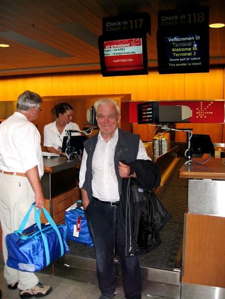 Grönlandreise -Flughafen Kopenhagen 2007