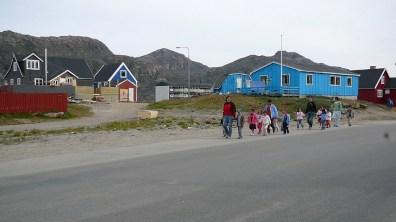 Grönland-Sisimut Schulkinder 2007