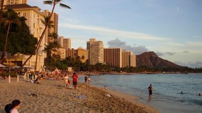 hawaii-Waikiki- Bebauung bis ans Meer 027