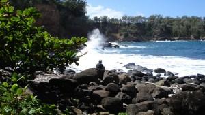 hawaii-svend versonnen an Hawaiiküste 037