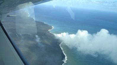 hawaii-mündung des permanenten Lavastromes 072