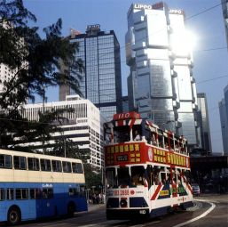 Hongkong-Touristenbus 1997