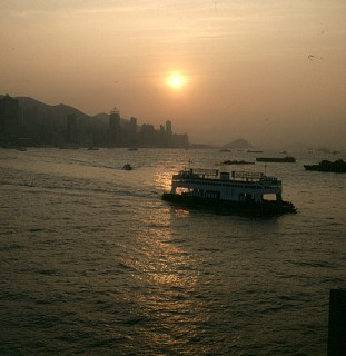 Hongkong-Victoriaferry 1997