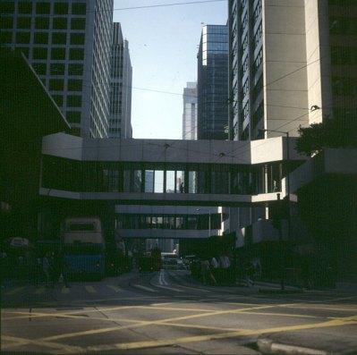 Hongkong-Victoria Überwege 1997